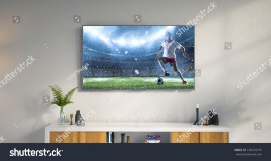 stock-photo--d-illustration-of-a-living-room-led-tv-on-white-wall-showing-soccer-game-moment-728233795 20516